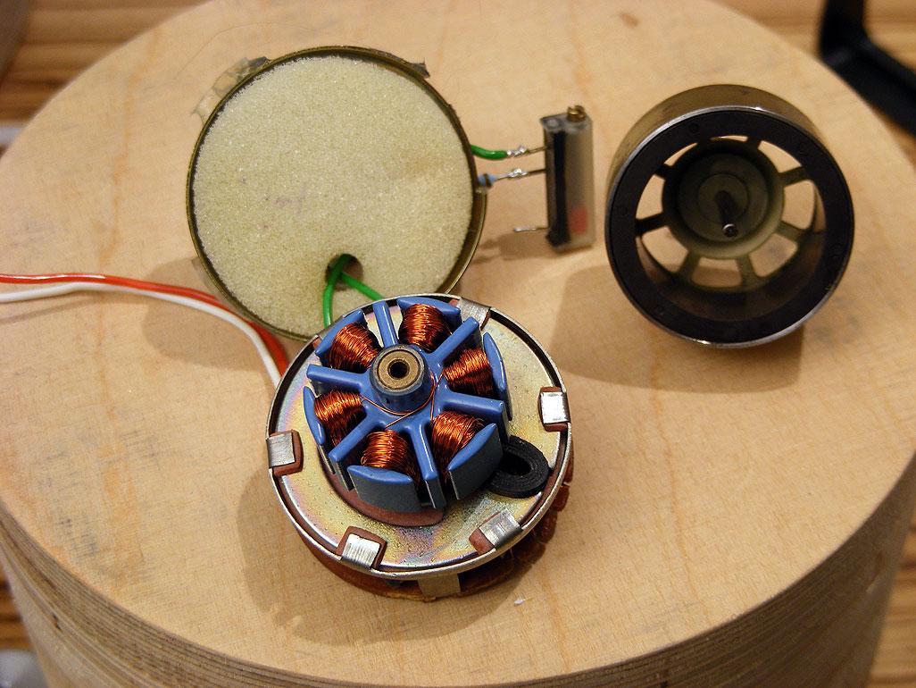 bürstenloser gleichstrommotor 3 phasen